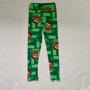 Lularoe Children's Christmas Leggings